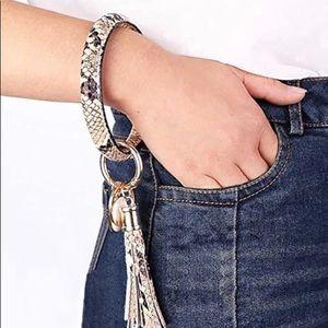 Tassel Bracelet Keyring